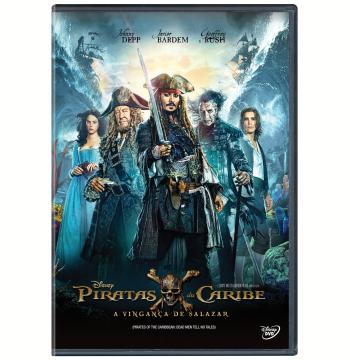 Piratas do Caribe - A Vingança de Salazar (DVD)