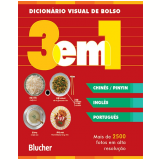Dicion�rio Visual de Bolso - 3 em 1 - Chin�s - Pinyin/ Ingl�s/ Portugu�s -