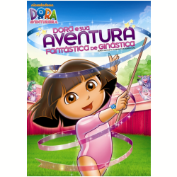 DVD - Dora e Sua Aventura Fantástica de Ginástica - Vários ( veja lista completa ) - 7899587908242