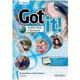 Got It! 2b - Student Book - Workbook With Multirom - Second Edition -