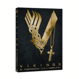 Vikings- 1ª, 2ª, 3ª Temporadas (DVD) - Jessalyn Gilsig, Katheryn Winnick