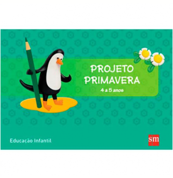 Primavera 4 A 5 Kit - Educação Infantil