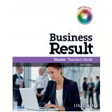 Business Result Starter Teacher's Book Dvd Pack -