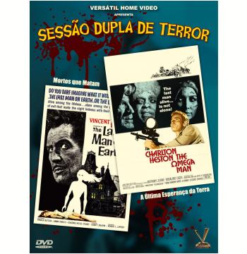 Sessão Dupla de Terror (DVD)