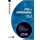 Códigos 4 Em 1 Saraiva - Civil e Empresarial - Editora Saraiva