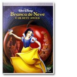 DVD - Branca de Neve e os Sete Anões - Edição Diamante - 7899307913242