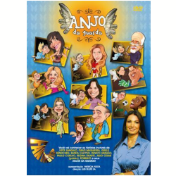 DVD - Anjo da Guarda - Luis Felipe Sá, Patrícia Poeta - 7891430062194