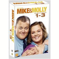 DVD - Mike e Molly - 1ª, 2ª e 3ª Temporadas Completas - Vários ( veja lista completa ) - 7892110079433