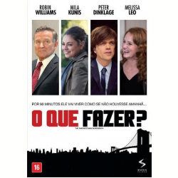 Blu - Ray - O Que Fazer ? - Robin Williams, Peter Dinklage - 7899154516122