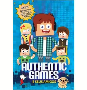 Authentic Games e Seus Amigos - Deluxe Version (DVD)
