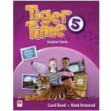 Tiger Time Student's Book With Ebook Pack (Vol. 5) - Carol Read, Mark Ormerod