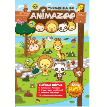 Turminha do Animazoo (DVD)