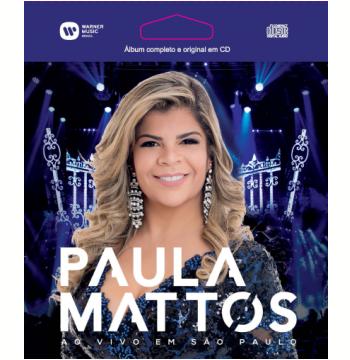 Paula Mattos - Ao Vivo Em São Paulo (CD)