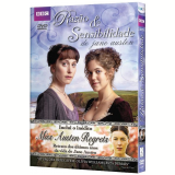Razão e Sensibilidade + Miss Austen Regrets (DVD) - David Morrissey, Janet McTeer