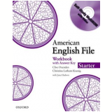American English File Starter - Workbook With Cdrom -