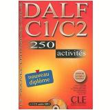 Nouveau Dalf C1/C2 - 250 Activites - Livre + Cd Audio - Collectif