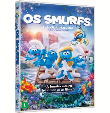 Os Smurfs E A Vila Perdida (DVD)