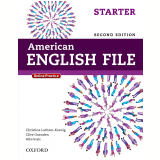 American English File Starter Student Book - Second Edition -