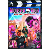 Monster High - Monstros, C�mera, A��o! (DVD) - William Lau (Diretor)