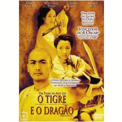 DVD - Tigre e o Dragão, O - Ziyi Zhang, Chow Yun - Fat, Michelle Yeoh - 7892770004424