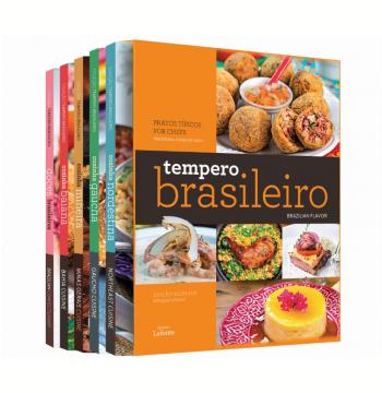 Box - Tempero Brasileiro - Bilíngue (5 Vols.)
