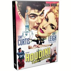DVD - Houdini, O Homem Miraculoso - Janet Leigh, Tony Curtis, Torin Thatcher - 7898570941396