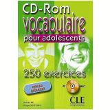 Vocabulaire Pour Adolescents - 250 Exercices - Niveau Debutant (cd-rom Pc/mac) - Ph. Santinan