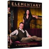 Elementary - 3ª Temporada (DVD) - Lucy Liu, Aidan Quinn, Jonny Lee Miller
