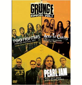 Foo Fighters, Alice In Chains e Pearl Jam (Vol. 1) (DVD)