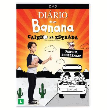 Diário de Um Banana - Caindo na Estrada (DVD)