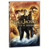 Percy Jackson E O Mar De Monstros (DVD) - Stanley Tucci, Logan Lerman, Brandon T. Jackson