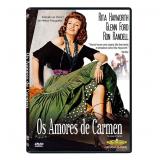 Os Amores de Carmen (DVD) - Vários (veja lista completa)