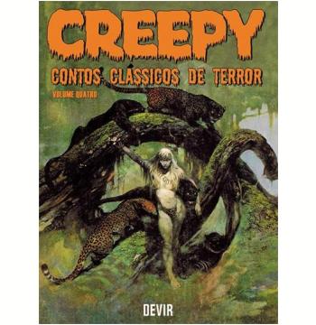 Creepy - Contos Clássicos de Terror (Vol. 4)