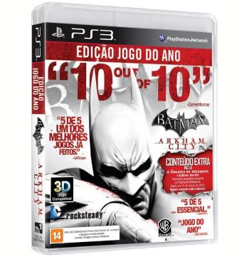 Batman Arkham City - GOTY (PS3)