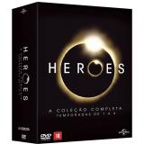 Heroes - A Coleção Completa - Temporadas de 1 a 4 (DVD) - Masi Oka, Ali Larter, Hayden Panettiere