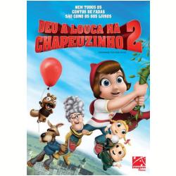 DVD - Deu a Louca Na Chapeuzinho 2 - Patrick Warburton, Glenn Close, Hayden Panettiere - 7899154512834
