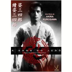 DVD - A Saga do Judô - Akira Kurosawa ( Diretor ) - 7895233174702