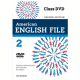 American English File 2 Class Dvd - Second Edition (CD) -