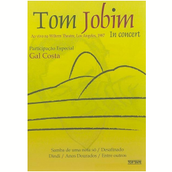 Tom Jobim - Ao Vivo no Wiltern Theatre, Los Angeles, 1987 (DVD)