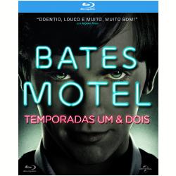 Blu - Ray - Bates Motel - 1ª + 2ª Temporadas - Vera Farmiga - 7898591441950