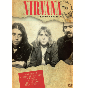 Nirvana Teatro Castello - Roma 1991 (DVD)