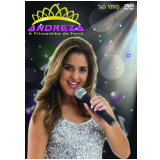 Andreza A Princesinha Do Forró - Ao Vivo (DVD) - Andreza A Princesinha Do Forró