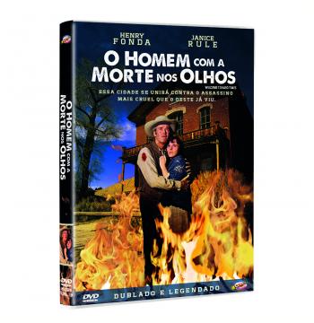O Homem Com a Morte nos Olhos (DVD)