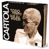 Cartola - Todo o Tempo Que Eu Viver 1967 - 1976 (Box 3 CDs) (CD) - Cartola