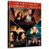 Coleção Inferno, Anjos & Demônios E O Código Da Vinci (DVD) - Tom Hanks