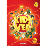 Kids Web Vol. 4 - Second Edition - Livro Do Aluno + Multirom - Ensino Fundamental I - Edições Educativas da Editora Moderna