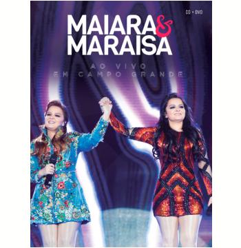 Maiara e Maraísa - Ao Vivo Em Campo Grande - (CD) + (DVD)