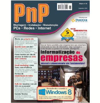 PnP Digital nº 26 - Informatização de empresas, entendendo o Windows 8 (Ebook)