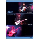 G3 - Live in Denver (DVD) - Eric Johnson, Joe Satriani, Steve Vai