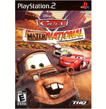 Cars Mater-National Championship (PS2)